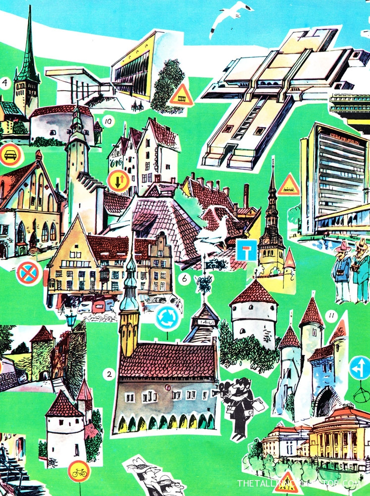 Tallinn as seen by an Artist