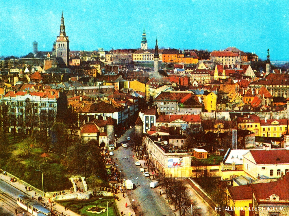 The centre of Tallinn