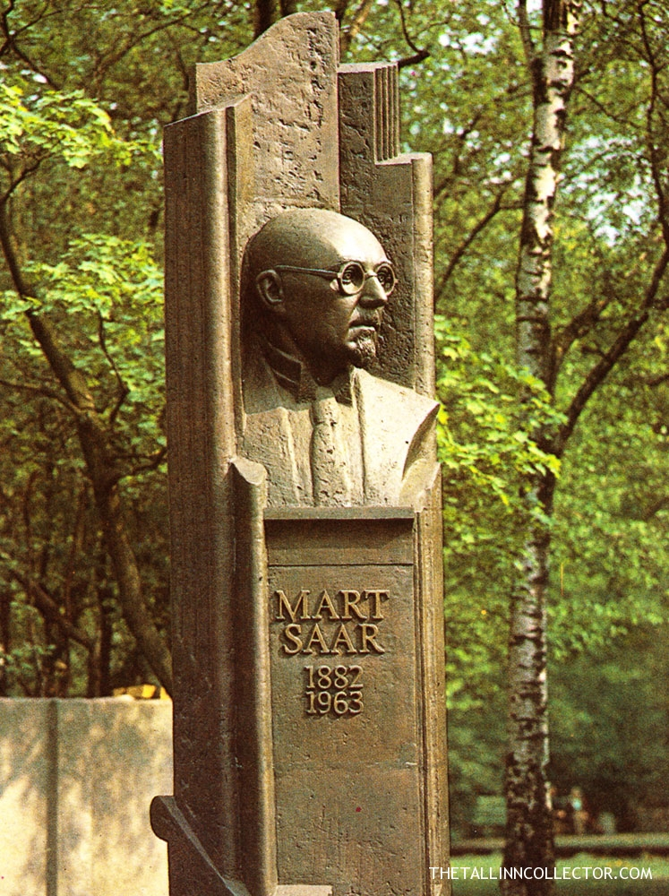 Monument to the composer Mart Saar