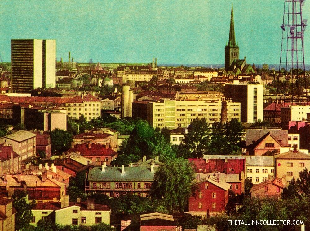 A view of Tallinn