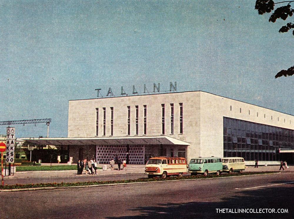Tallinn. Train station